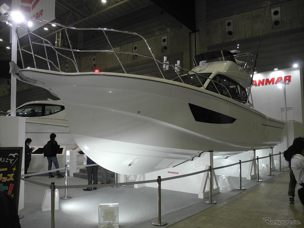 ヤンマー(ジャパンインターナショナルボートショー2019)《撮影 山田清志》