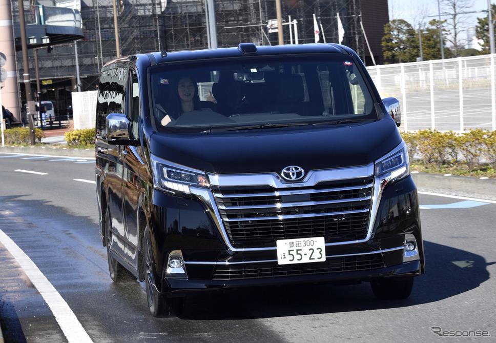 トヨタ グランエース G(4列8人乗り)《撮影 雪岡直樹》