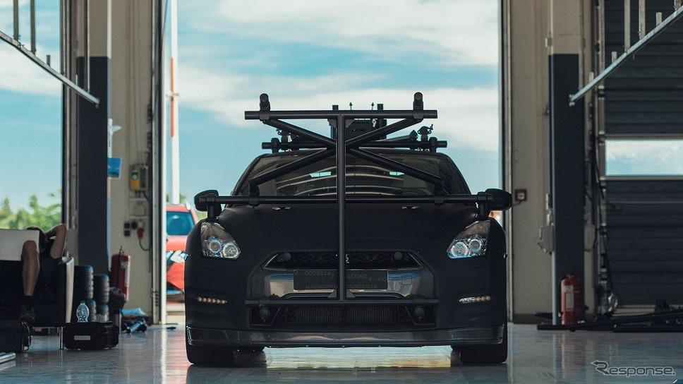 GT-Rカメラカー《画像:日産自動車》