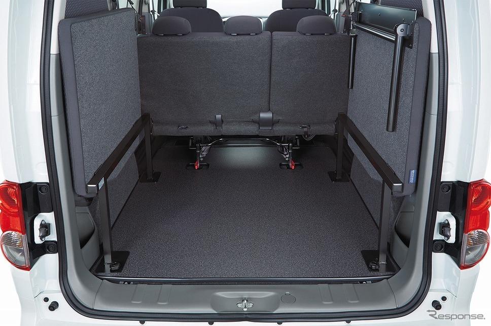 NV200バネット マルチベッドワゴン《画像:日産自動車》