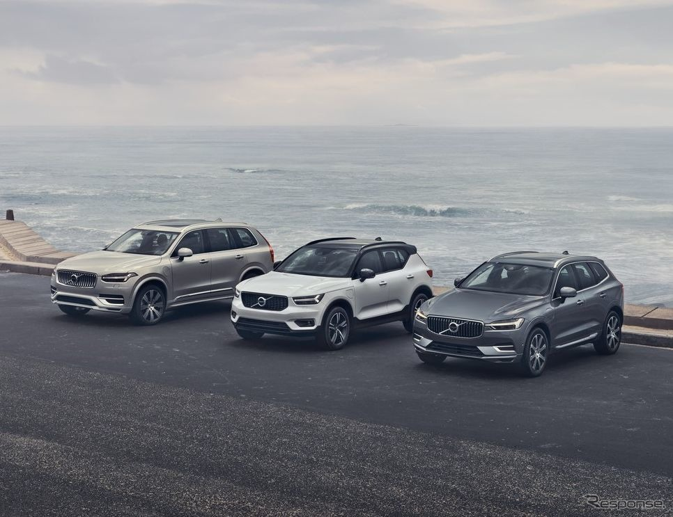 ボルボカーズのSUV《photo by Volvo Cars》
