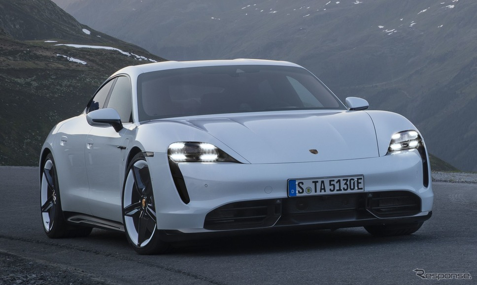 ポルシェ・タイカン(欧州仕様)《photo by Porsche》