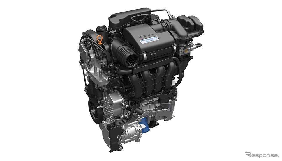 ホンダ フィット 1.5Lアトキンソンサイクル DOHC i-VTECエンジン《画像:ホンダ》