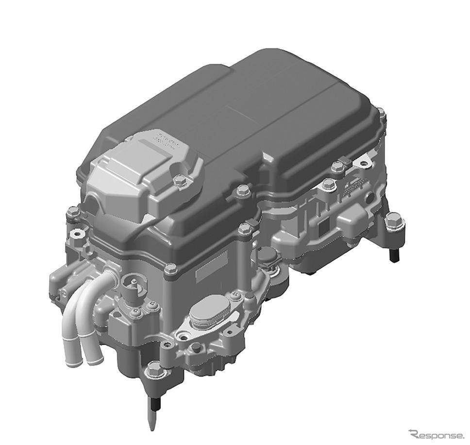 ホンダ フィット e:HEV(2モーターハイブリッドシステム)PCU(パワーコントロールユニット)イメージ図《画像:ホンダ》