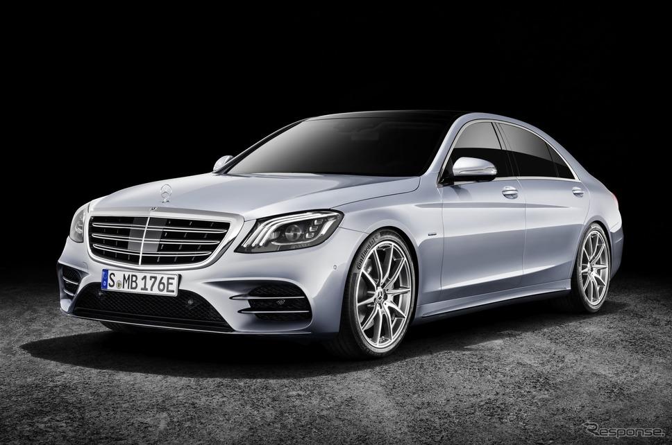メルセデスベンツ Sクラス 現行型(参考画像)《photo by Mercedes-Benz》