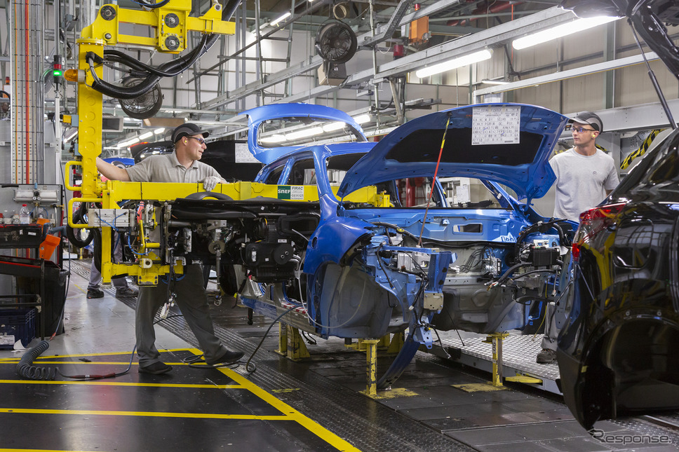 日産自動車、英サンダーランド工場《photo by Nissan》