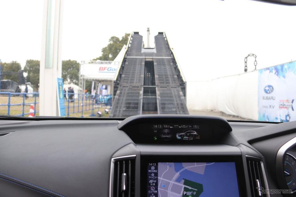 レッドブル・アイスクロス横浜2020 スバルブース《撮影 中尾真二》