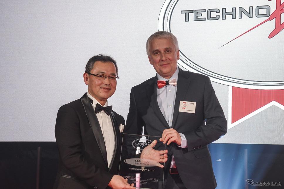 マツダのSKYACTIV-Xエンジンが欧州オートベストから「テクノベスト 2019」を受賞《photo by Mazda》