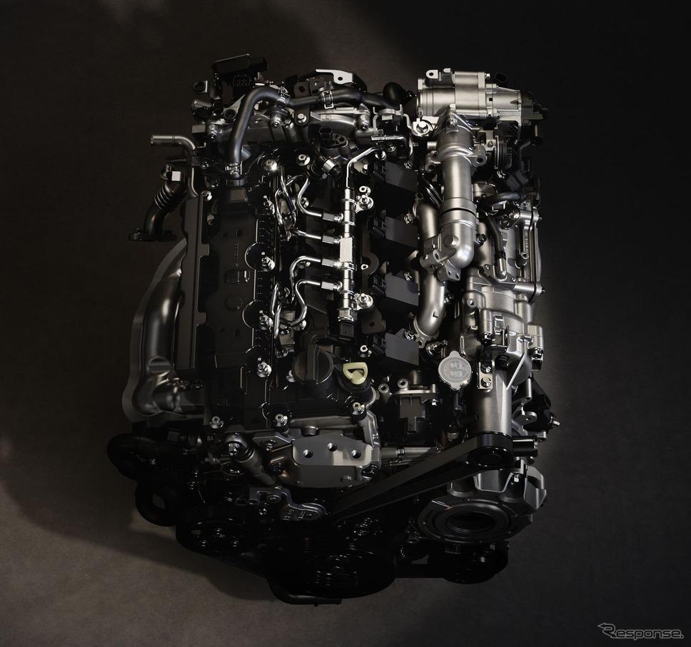 マツダのSKYACTIV-Xエンジン《photo by Mazda》