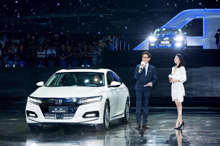 ホンダ・アコード 新型の中国仕様(北京モーターショー2018)《photo by Honda》