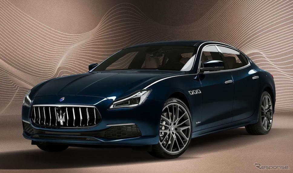 マセラティ・クアトロポルテ 現行型(参考画像)《photo by Maserati》