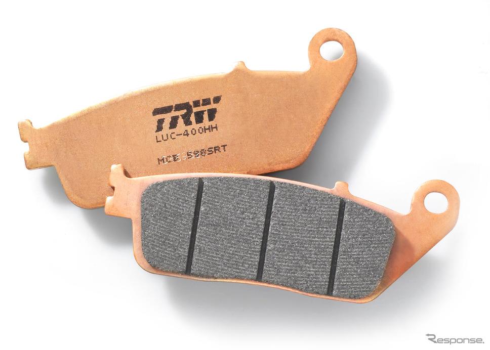 ZFのTRWブランドの新世代ブレーキパッド「シンター・ロード&トラック」《photo by ZF》