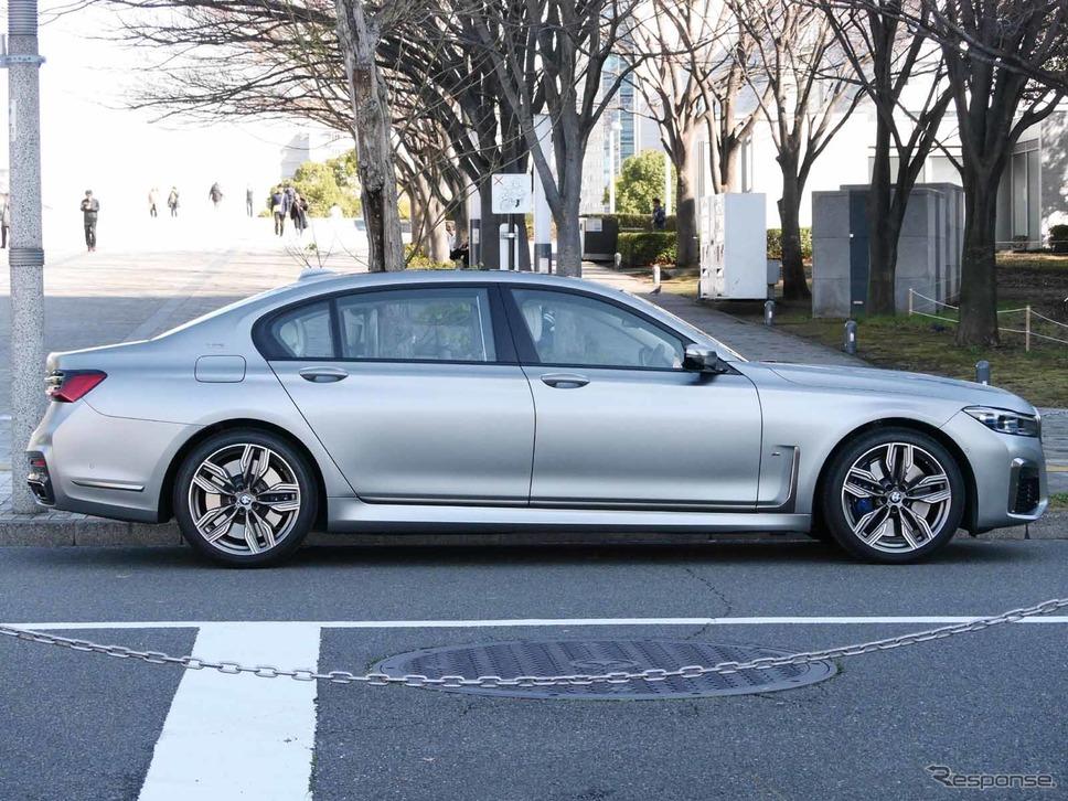 BMW 7シリーズ 新型(M760i xDrive)撮影 中村孝仁