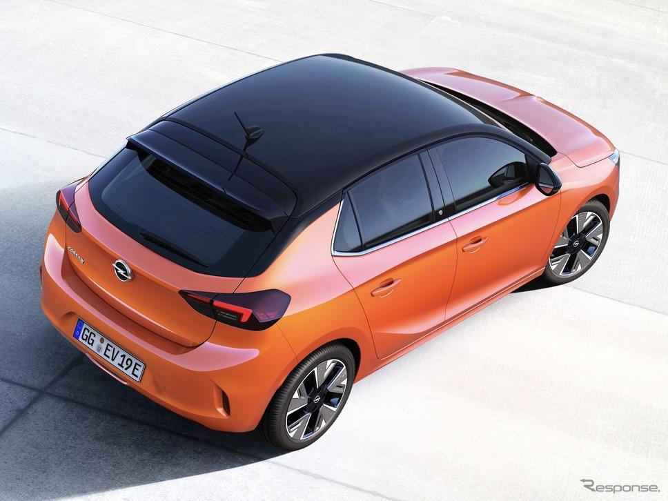 オペル・コルサe《photo by Opel》