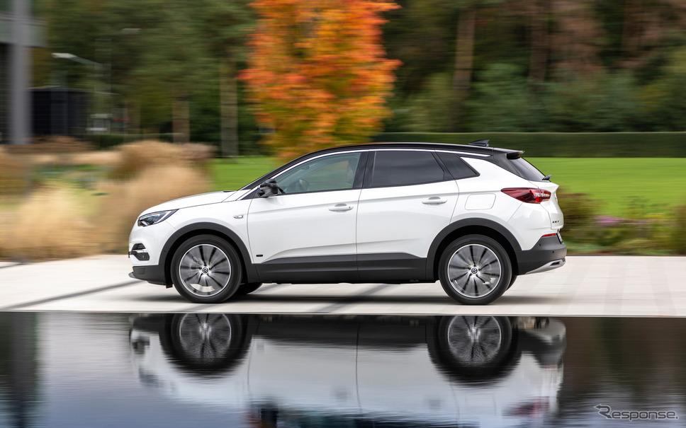 オペル・グランドランドX PHEV《photo by Opel》