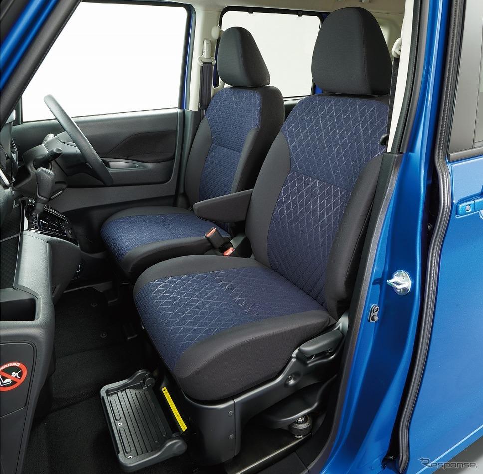 日産ルークス 助手席スライドアップシート《画像:日産自動車》