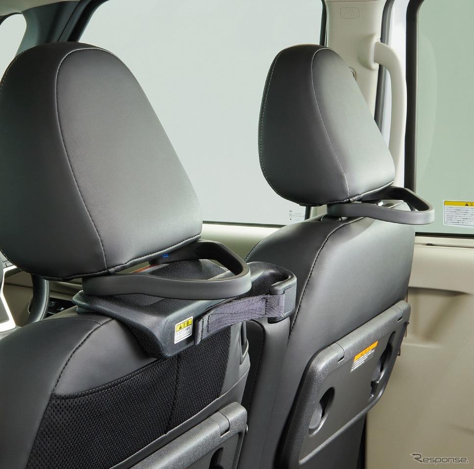 日産ルークス 送迎タイプ シートバックグリップ<運転席・助手席>《画像:日産自動車》