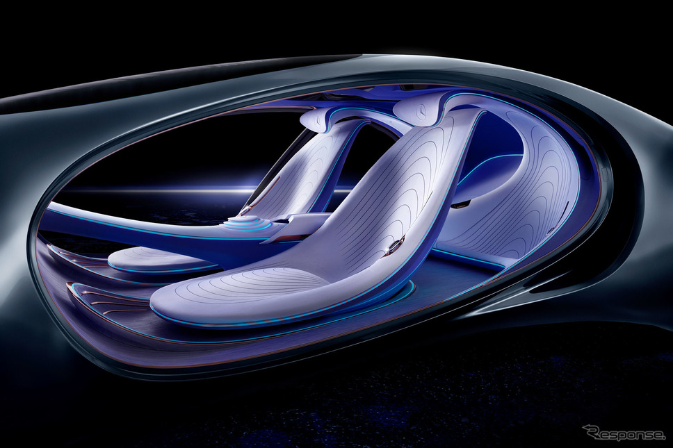 メルセデスベンツ・ヴィジョン AVTR《photo by Mercedes-Benz》