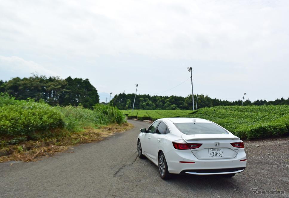 静岡の茶畑をドライブしてみた。《撮影 井元康一郎》