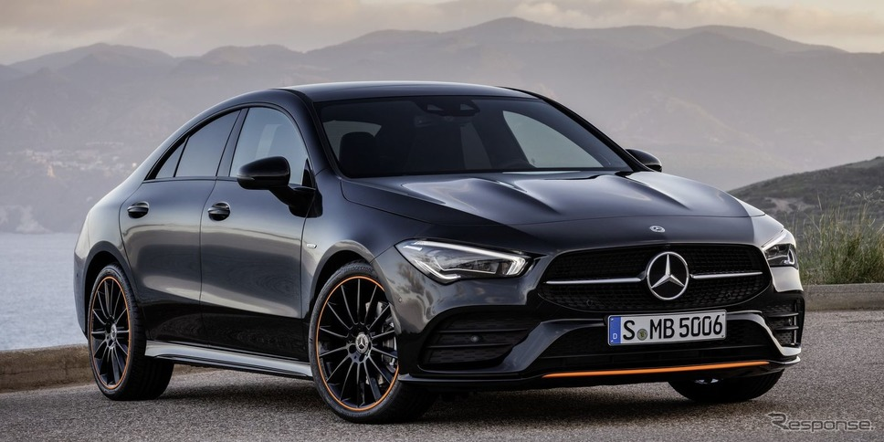 メルセデスベンツ CLA クーペ 新型(参考画像)《photo by Mercedes-Benz》