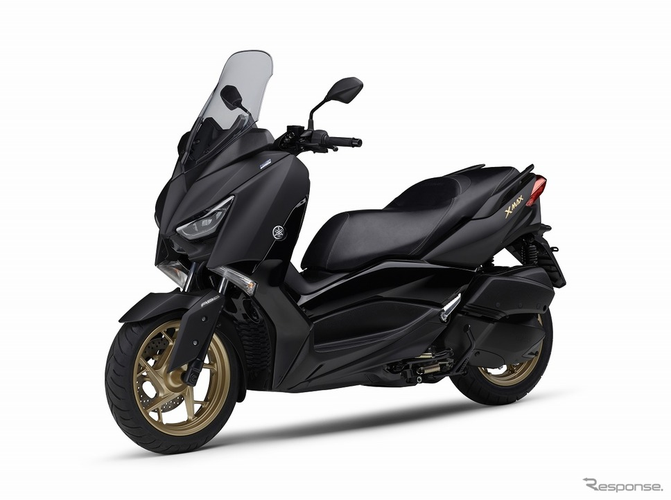 ヤマハ XMAX ABS 2020年モデル(マットブラック)《画像:ヤマハ発動機》