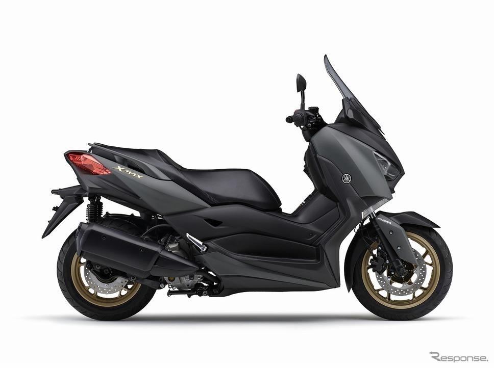 ヤマハ XMAX ABS 2020年モデル(マットグリーニッシュグレー)《画像:ヤマハ発動機》