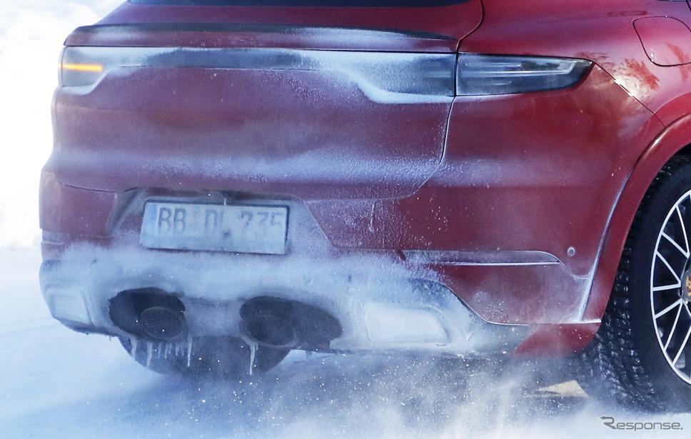 ポルシェ カイエン クーペGT 開発車両(スクープ写真)《APOLLO NEWS SERVICE》