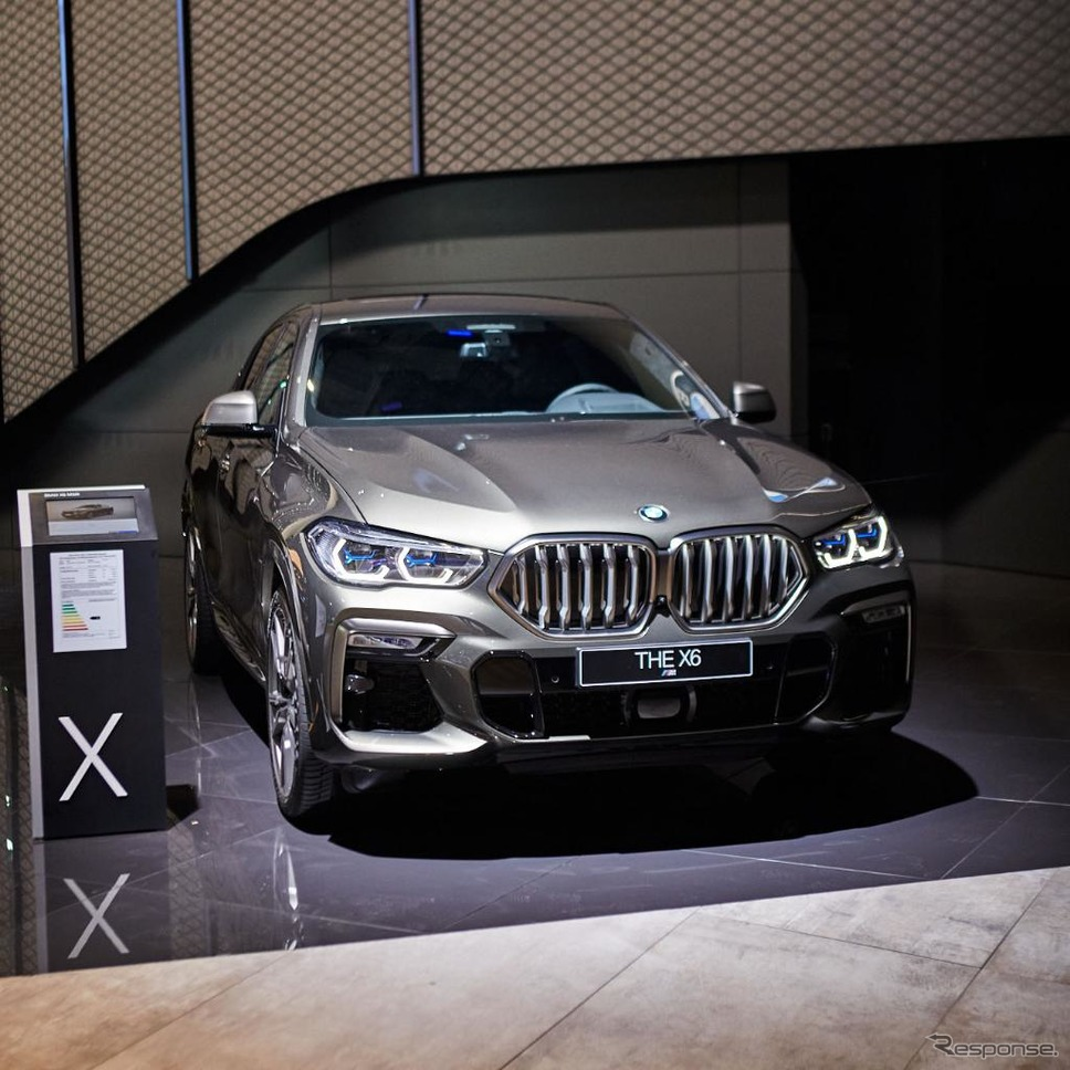 BMW X6 新型(フランクフルトモーターショー2019)《photo by BMW》