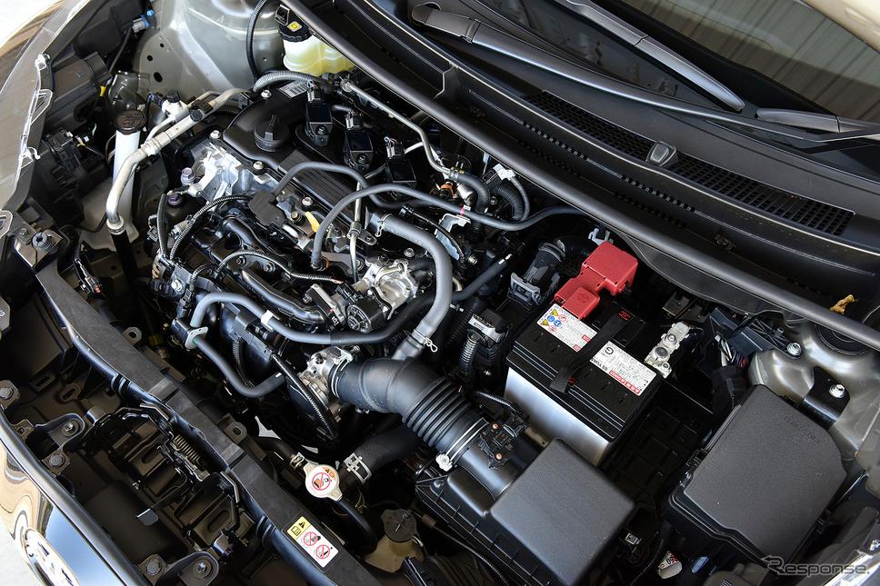 トヨタ ヤリスのエンジン《撮影 中野英幸》