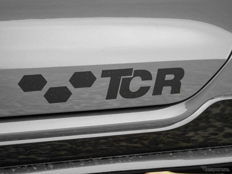 VW ゴルフGTI TCR撮影 中村孝仁