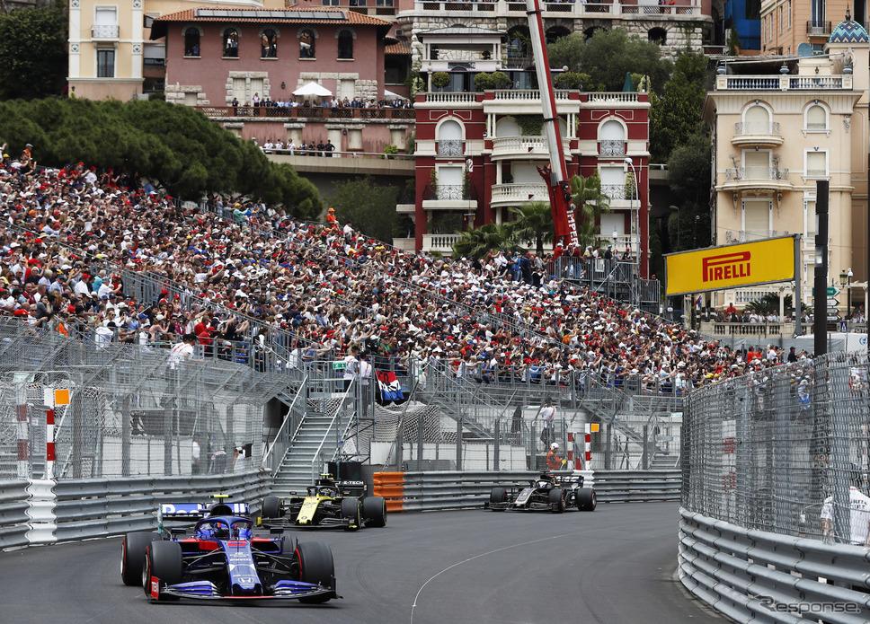 今季のF1はモナコGPで開幕する可能性も?(写真は2019年の同GP)《写真提供 Pirelli》