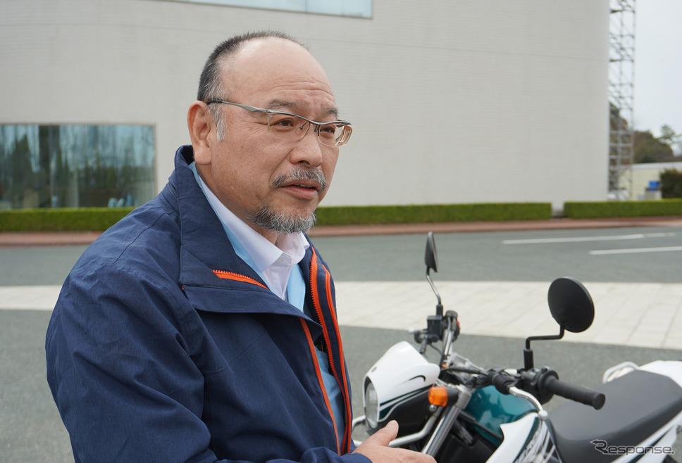 ヤマハ発動機 AM事業部 原田豊二さん《撮影 宮崎壮人》