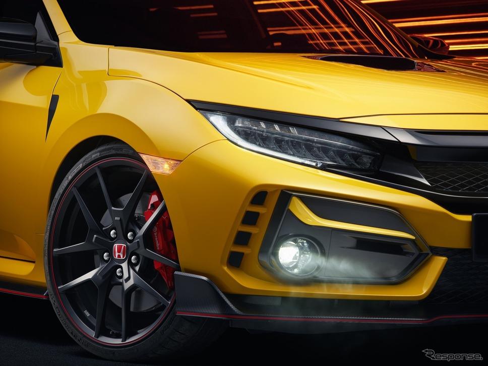 ホンダ・シビック・タイプR 改良新型のリミテッドエディション(欧州仕様)《photo by Honda》