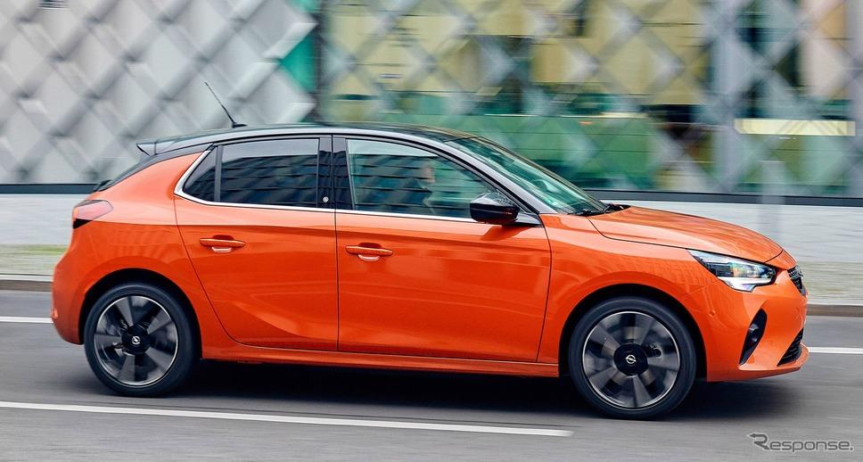 オペル・コルサ 新型のEV「コルサ e」《photo by Opel》
