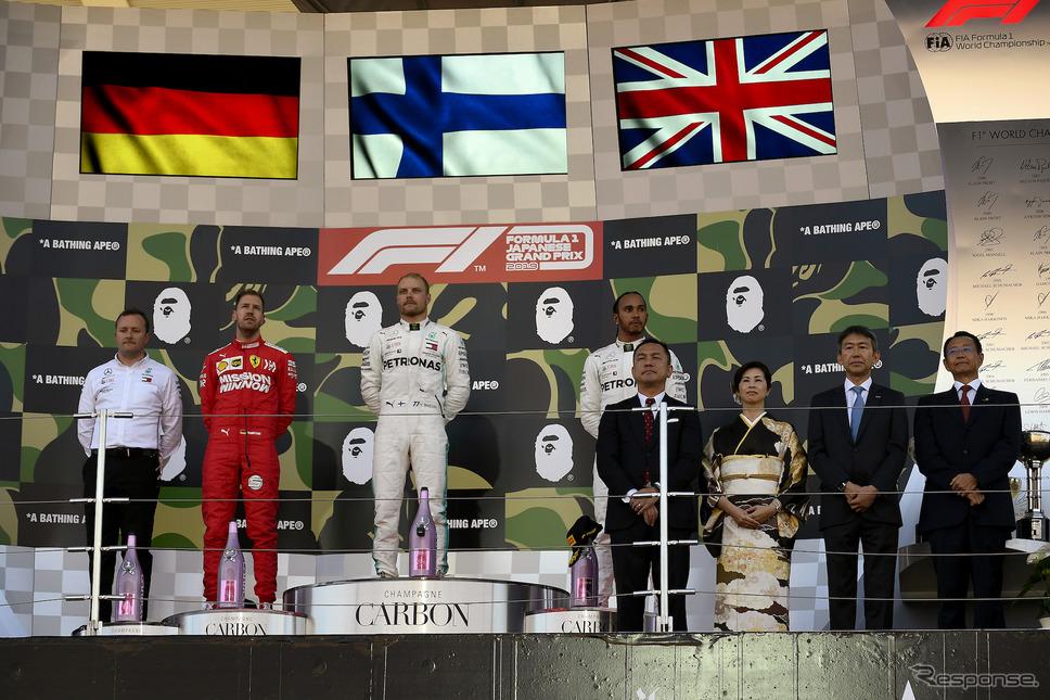 2019年、F1日本GP《画像 モビリティランド》