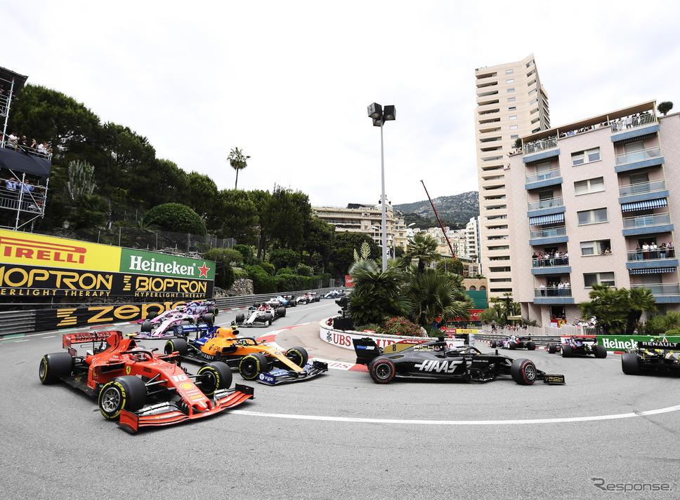 2019年F1モナコGP《写真提供 Pirelli》