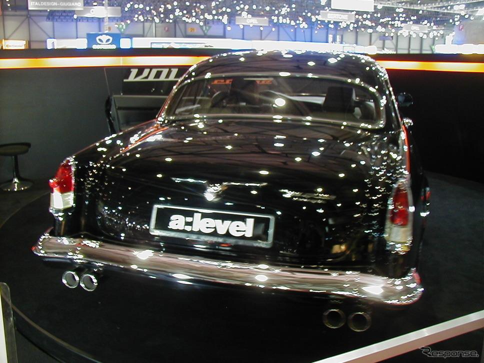 aレーヴェル・ヴォルガV12クーペ(2003年)《photo by Akio Lorenzo OYA》