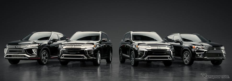 三菱自動車の米国SUVラインナップ(参考画像)《photo by Mitsubishi Motors》