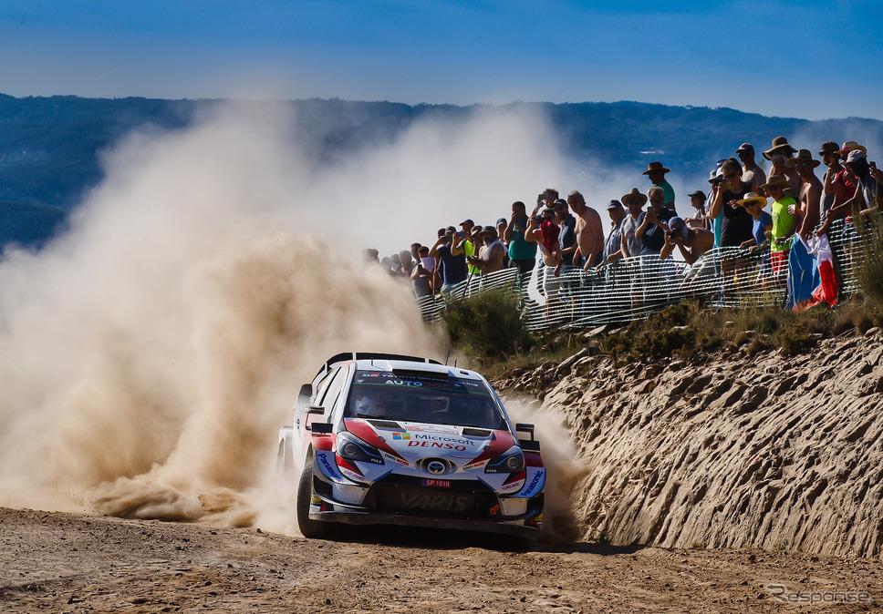 2019年WRCポルトガル戦の模様。《写真提供 TOYOTA》