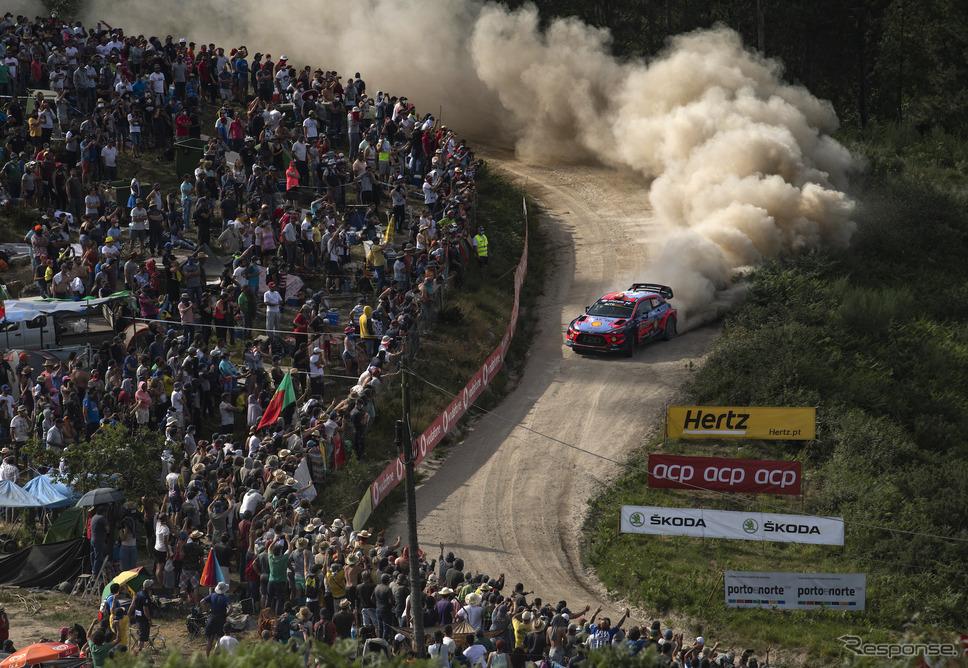2019年WRCポルトガル戦の模様。《写真提供 Red Bull》