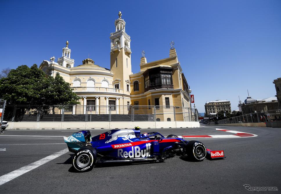 2019年F1アゼルバイジャンGPの模様。《写真提供 Pirelli》