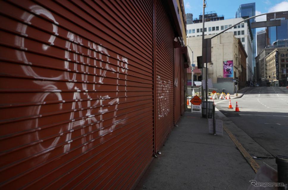コメロサンゼルス市内(3月24日)《photo (c) Getty Images》