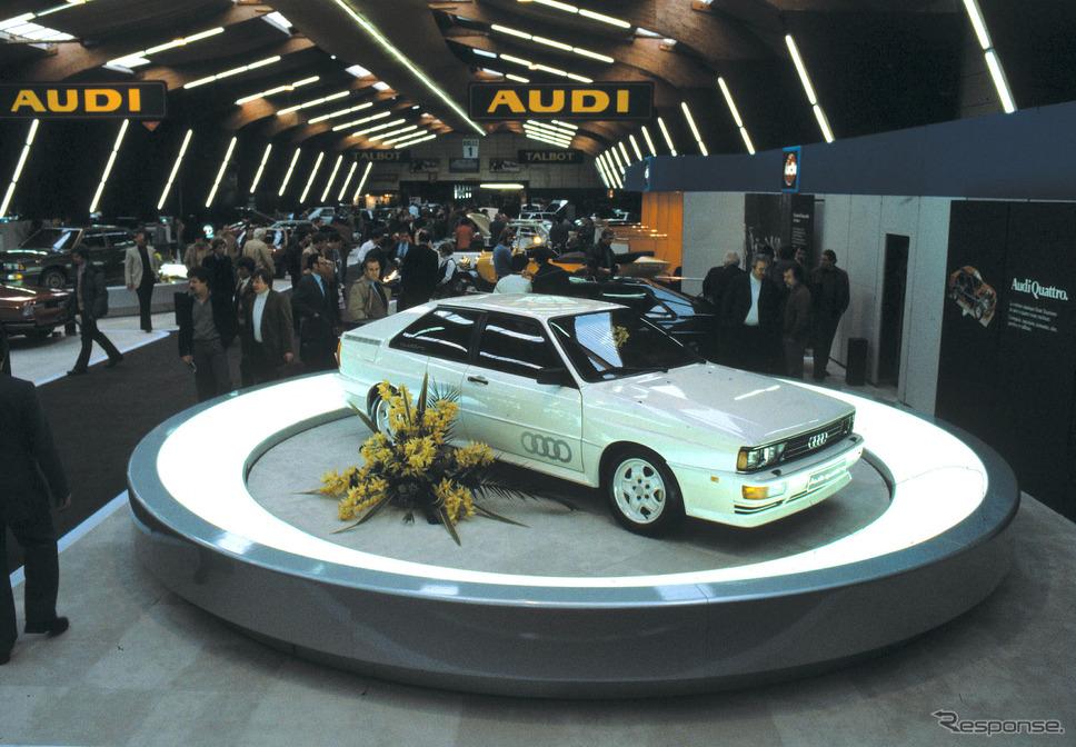 クワトロ(1980年)《photo by Audi》