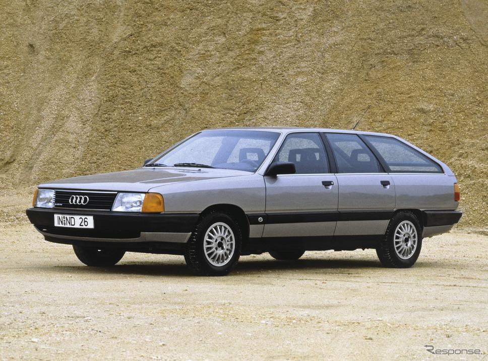 100アバント(1983年)《photo by Audi》