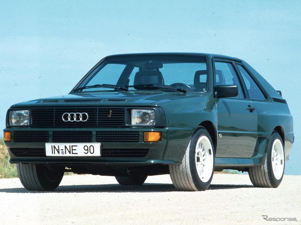 スポーツクワトロ(1984年)《photo by Audi》