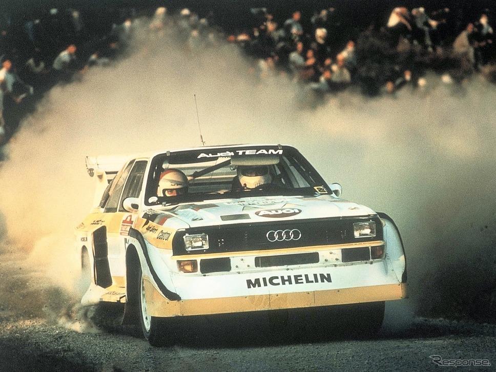 スポーツクワトロS1(1985年)《photo by Audi》