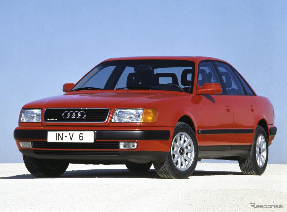 100クワトロ(1990年)《photo by Audi》