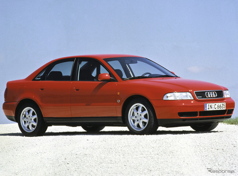 A4クワトロ(1996年)《photo by Audi》