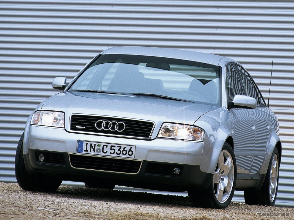 A6クワトロ(1996年)《photo by Audi》