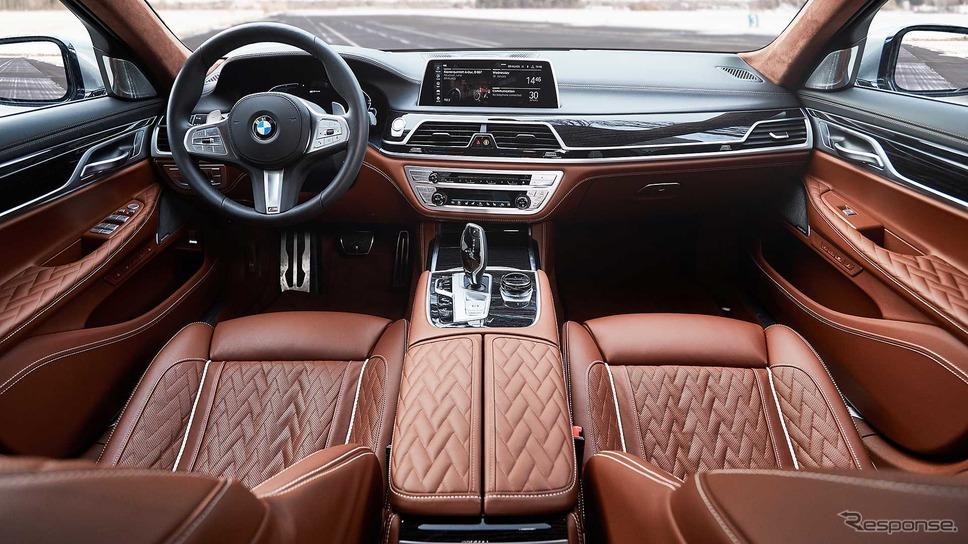 現行BMW 7シリーズ のPHV「745Le」(参考画像)《photo by BMW》
